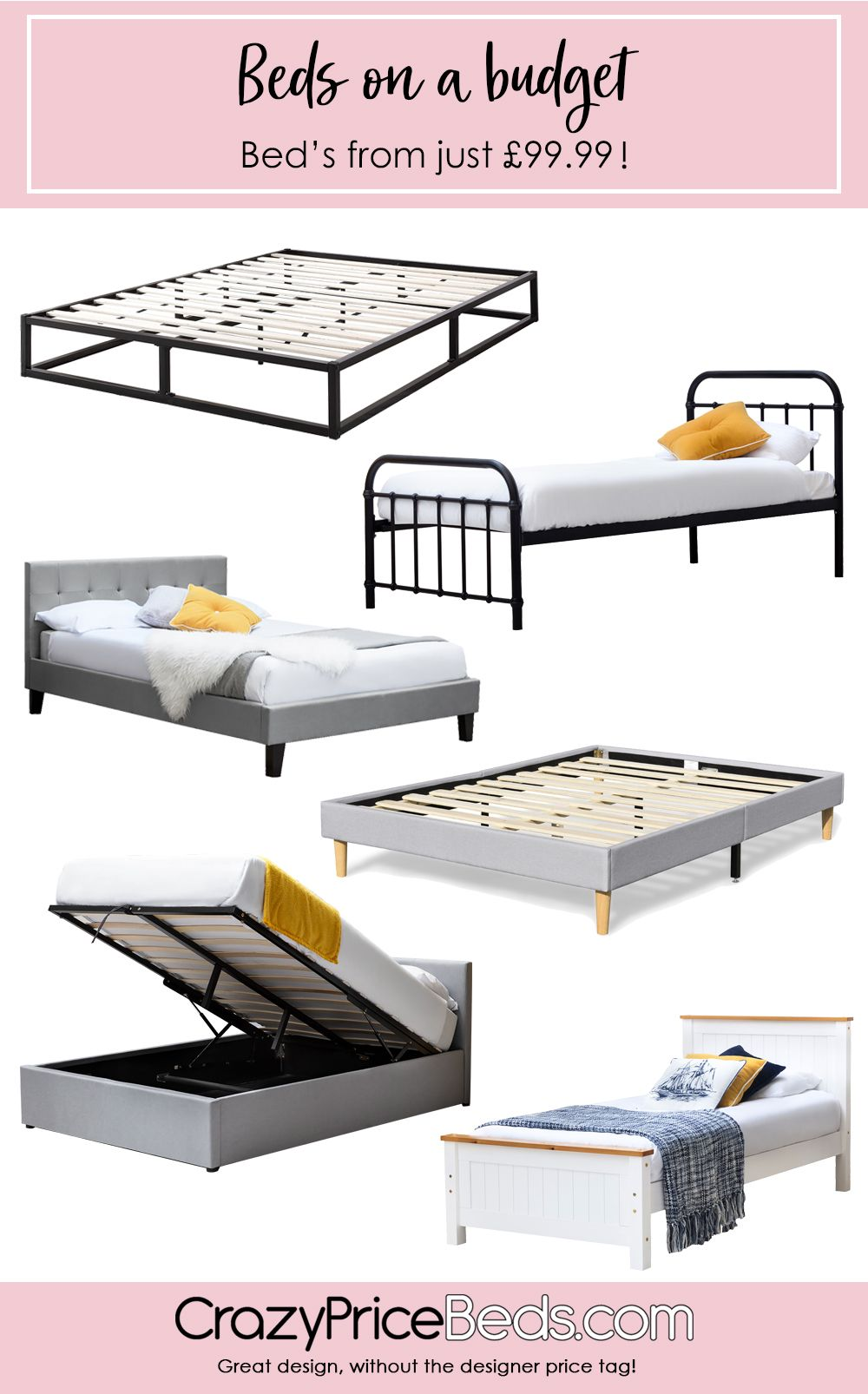 We Have Beds From Just 99 99 And Under 150 Fast Free Delivery