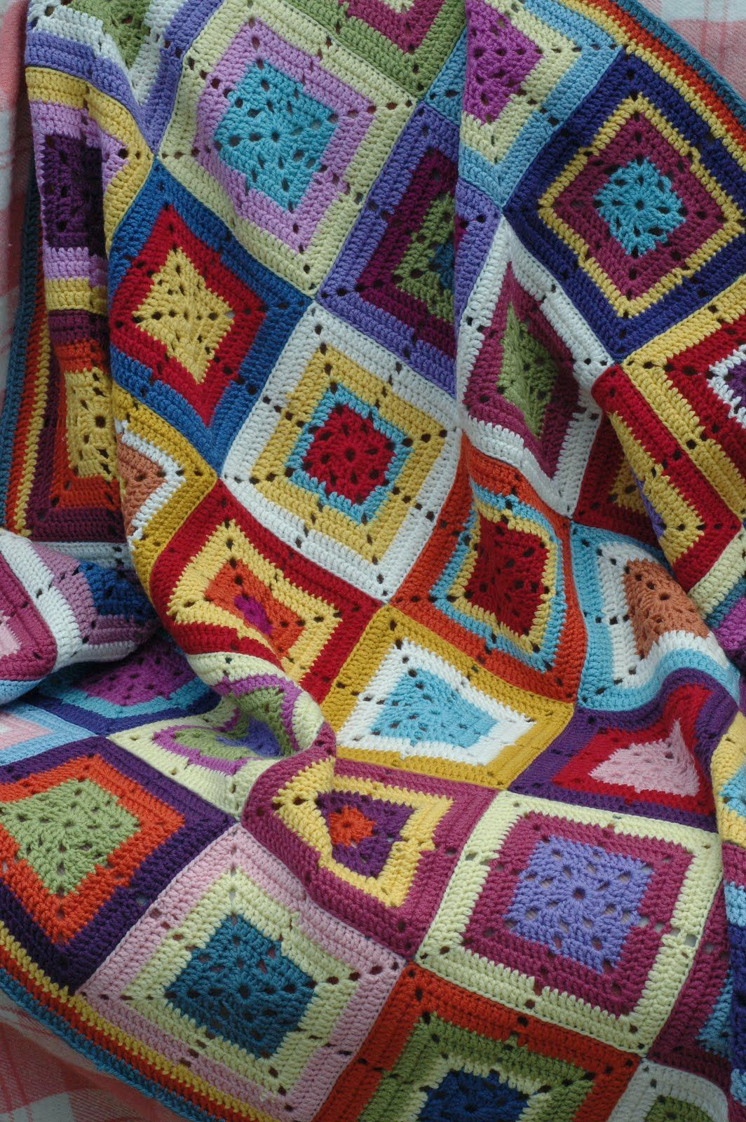 Serendipity Patch: Crochet Blankets | labores | Pinterest | Frazada ...