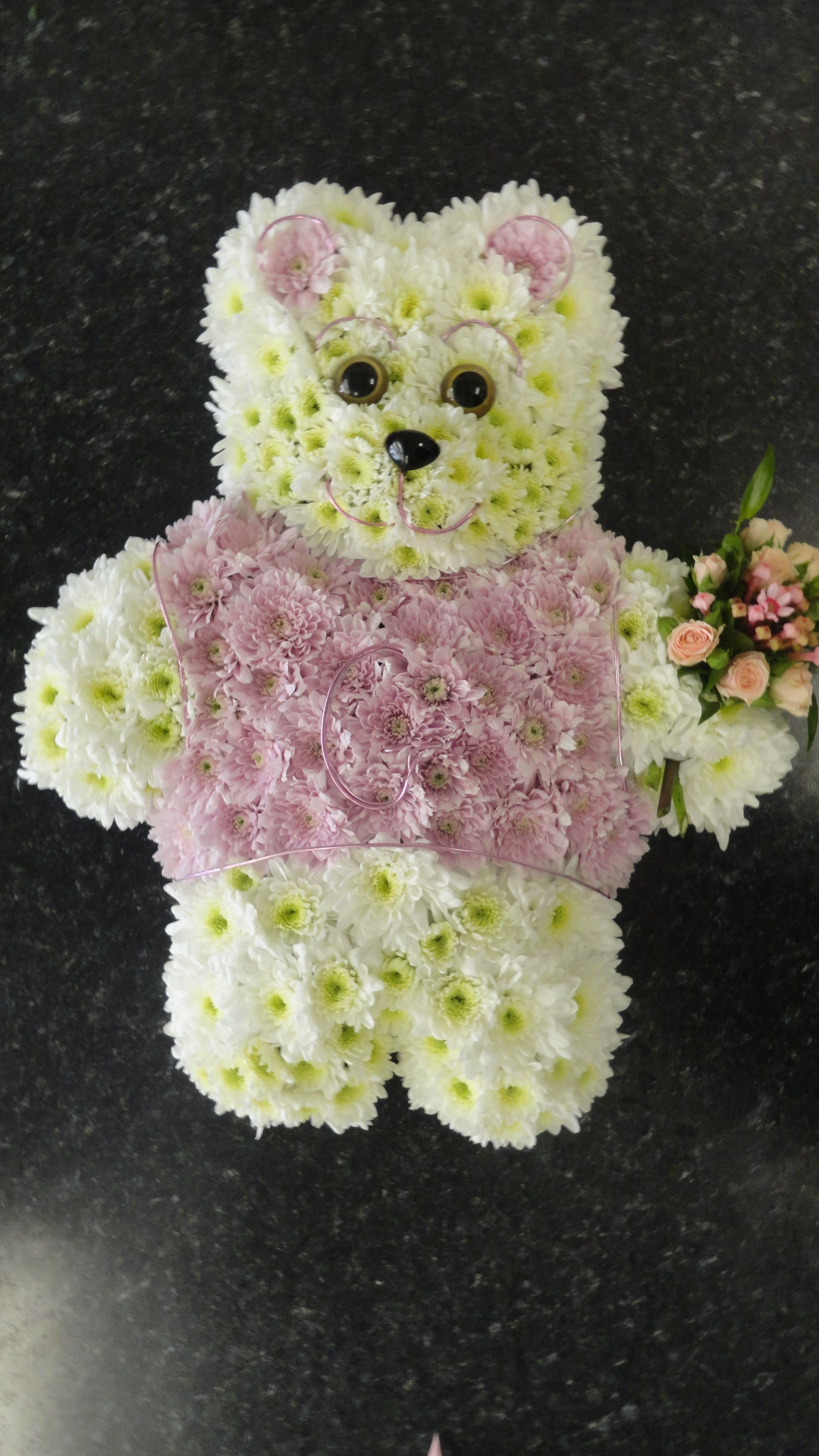Teddy Bear for a childs funeral Funeral Flowers Pinterest