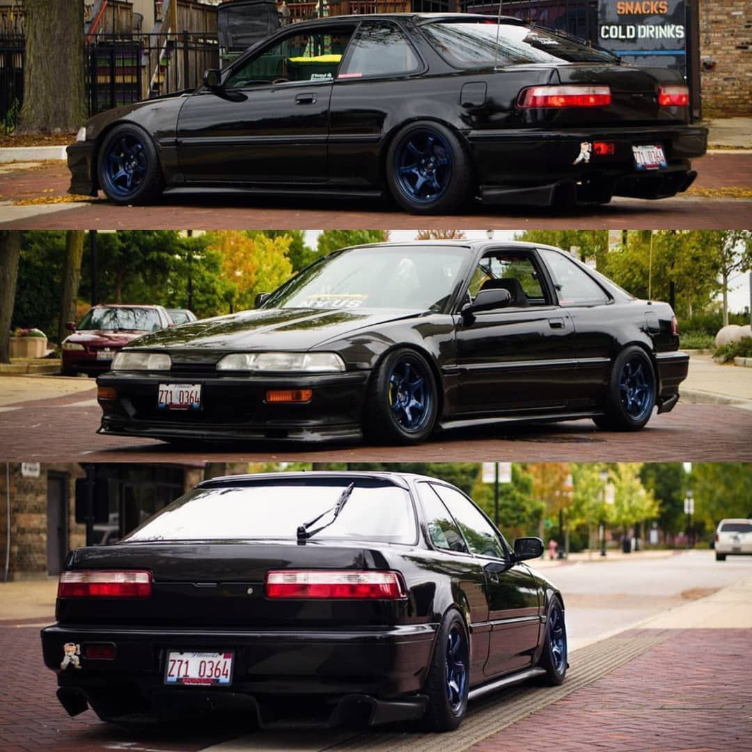 Integra Culture On Instagram Swipe Left To See More Of This Clean Build Tag A Friend W A Gramlights Double T Acura Integra Honda Cars Acura Cars