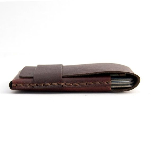Leather Card Case  Bussiness Card Case  by officeofminordetails