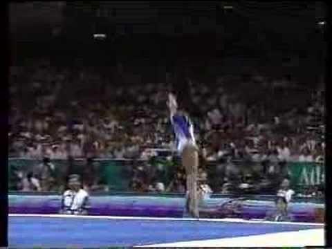 Dominique Moceanu 1996 Atlanta Olympics Floor My First