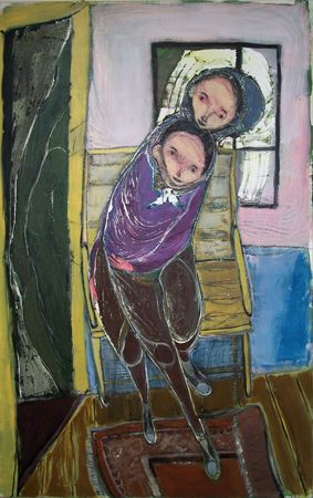 Waldemar Zimbelmann Untitled, 2013 mixed media on canvas 160 x 100 cm