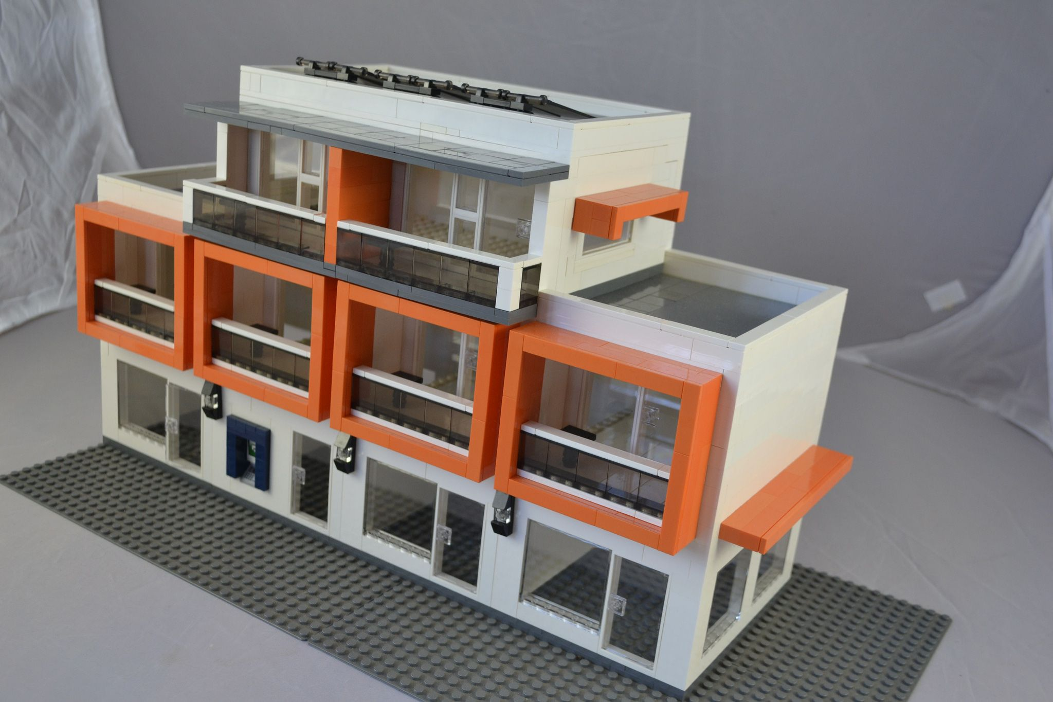 Best Modern Apartment With Images Lego Architecture Lego 400 x 300
