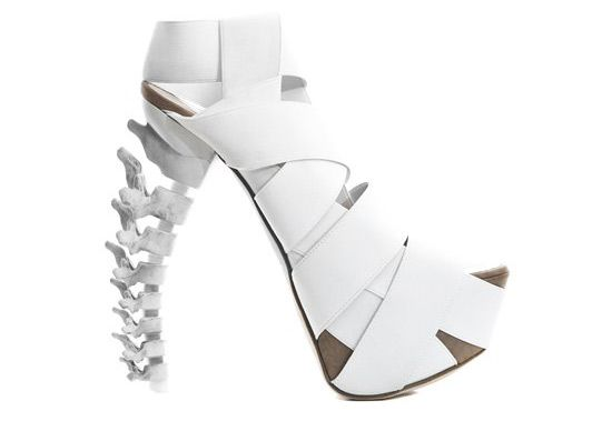 'skeletal stilettos' by dsquared2.