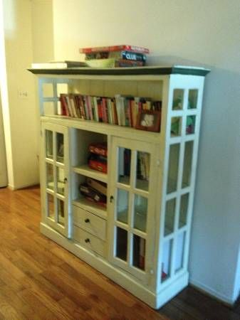 Antique Bookcase / Display Cabinet for sale (With images ...