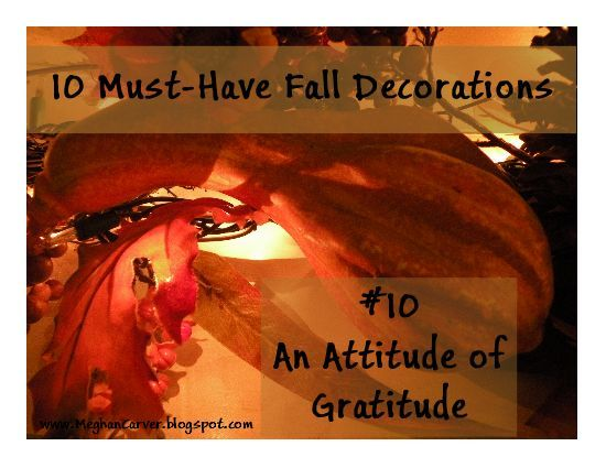 10 must-have fall decorations.