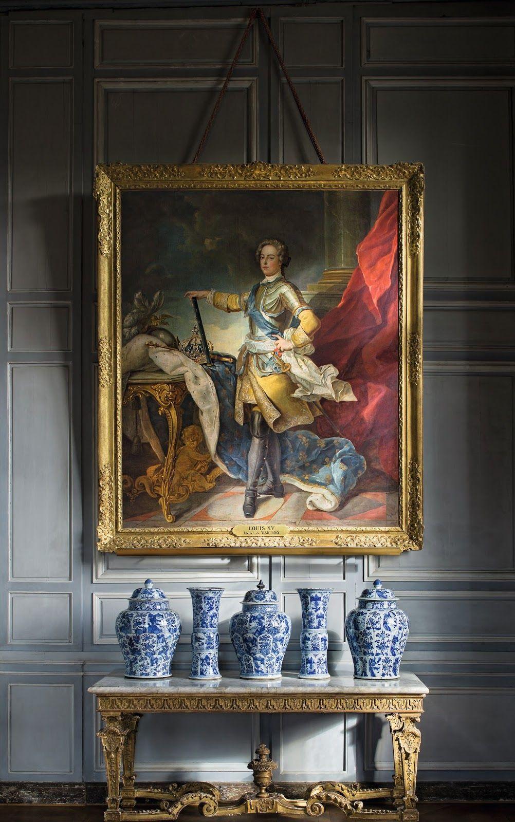 Chateau De Vaux Le Vicomte Chateau De Digoine Mobilier De Salon Decoration