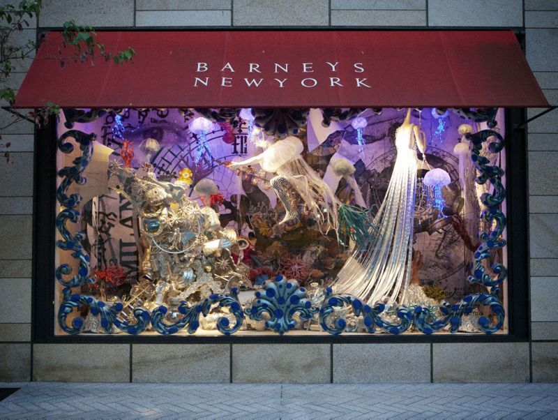 Barneys New York Ginza Tokyo Store Chirstmas Holiday Window - The 8 best holiday window displays in the world