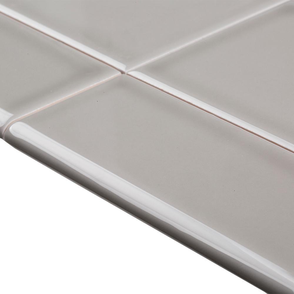 single bullnose ceramic wall tile trim