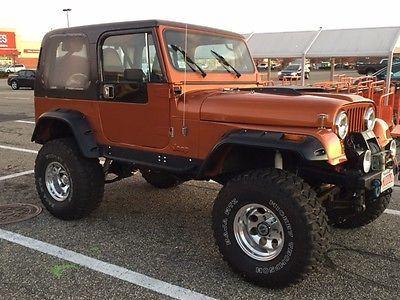 Ebay 1982 Jeep Cj 1982 Jeep Cj7 Ford 5 0l F I Ford 9 Rear And Dana 44 Front Jeep Jeeplife Usdeals Rssdata Net Jeep Cj7 Jeep Cj Jeep