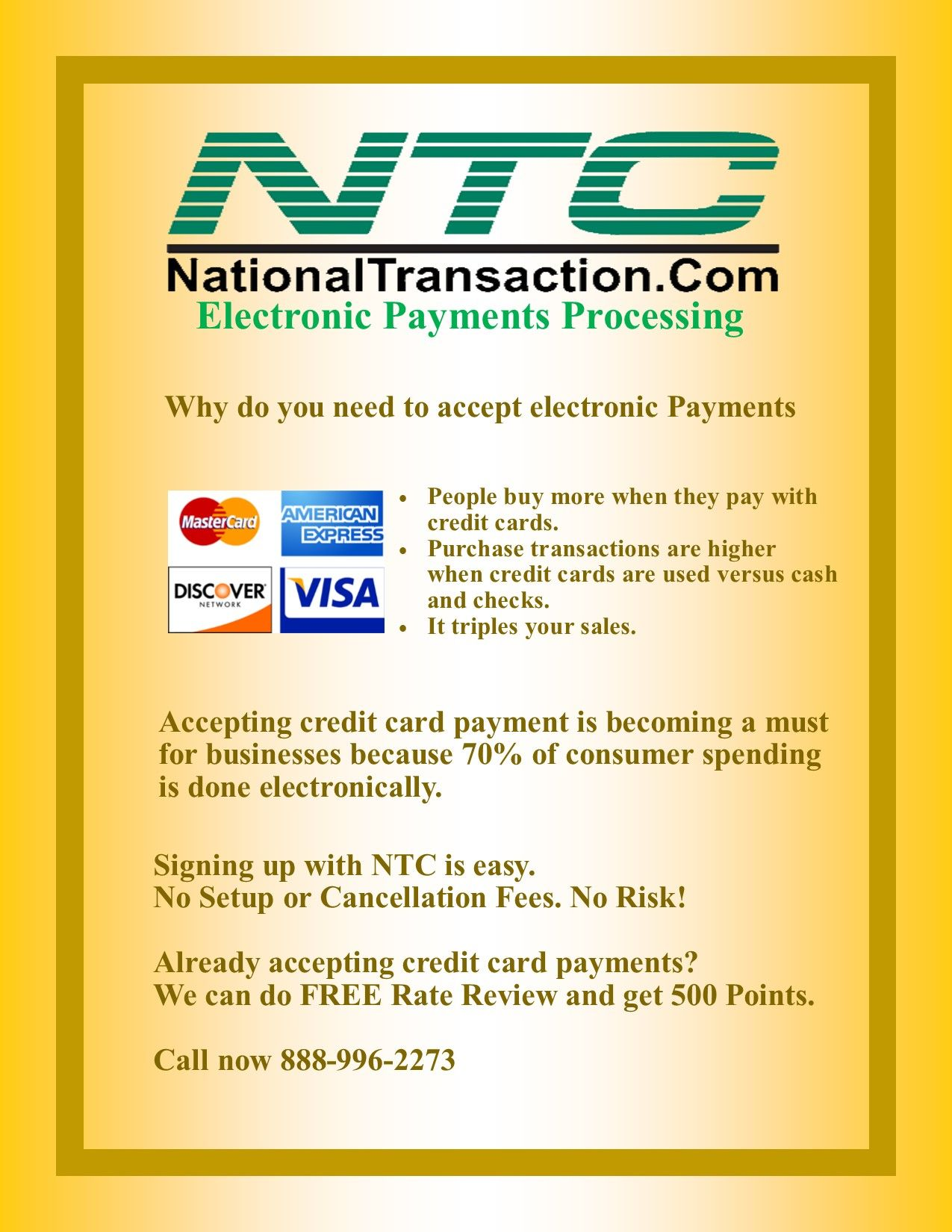 Accepting Electronic Payments Credit card, Credit card