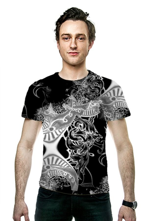 By Nicky van Gelder. All Over Printed Art Fashion T-Shirt by OArtTee
