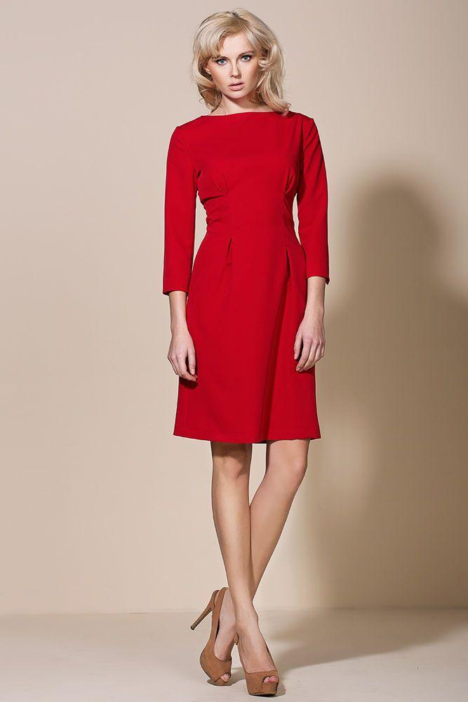 robe femme l gante habill e soir e cocktail rouge al05 alore 36 38 40 42 44 robe rouge femme. Black Bedroom Furniture Sets. Home Design Ideas