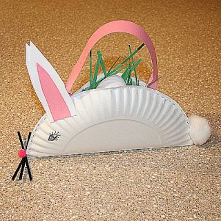 Simple Paper Plate Bunny Craft & Simple Paper Plate Bunny Craft   Bunny crafts Bunny and Easter