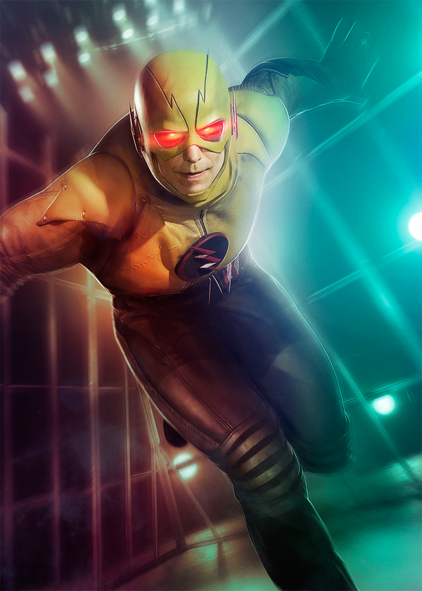 the flash arrow new superhero fight club posters feature reverse