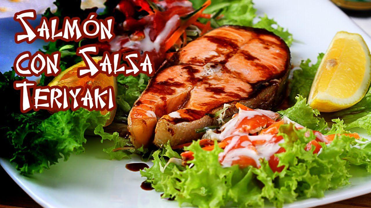Salmon con Salsa Teriyake Especial de Limon