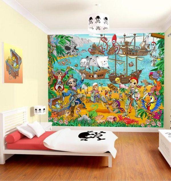 Pirate Wallpaper (little Bit Too Busy)