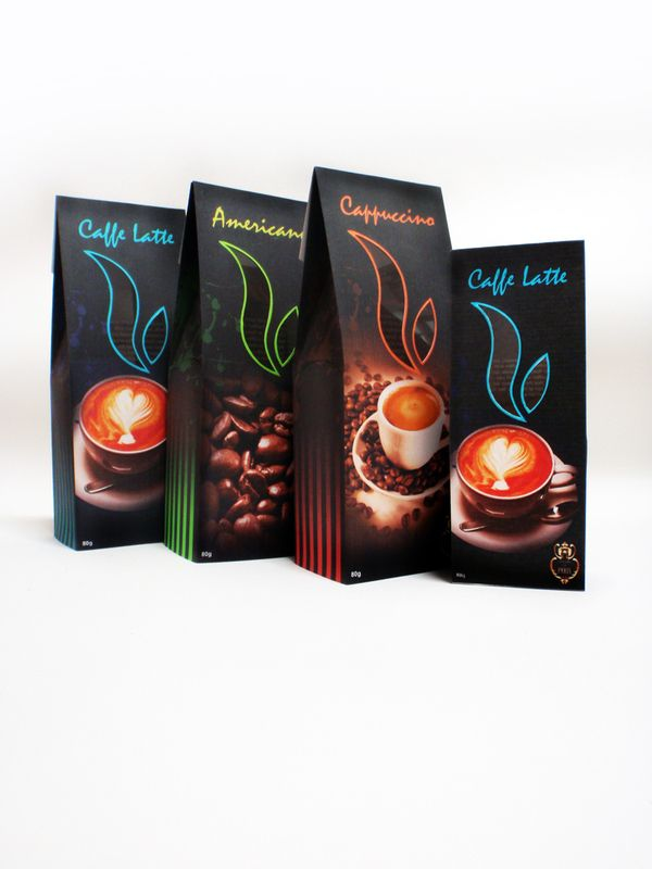 Coffee Packaging Designs atomic coffee roasters | packaging design, the o'jays and bags