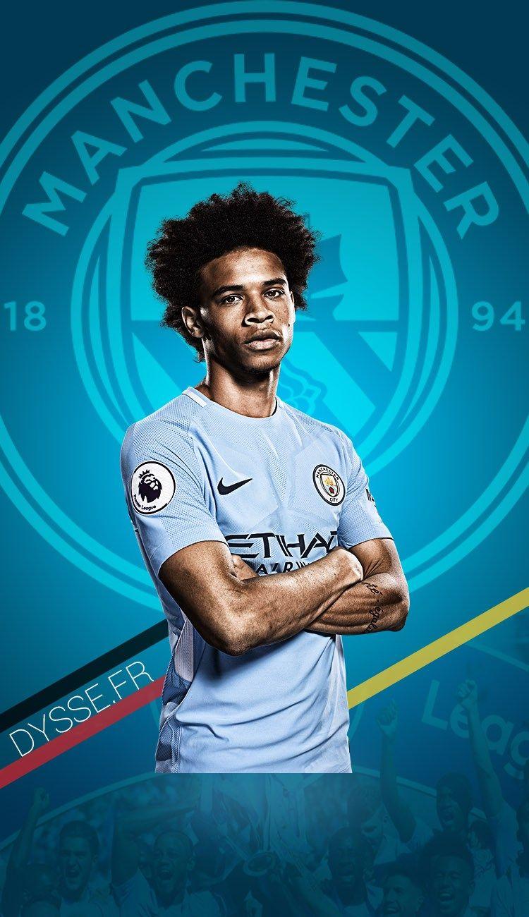 Leroy Sane Manchester City Wallpaper Dysse Fr Manchester City Wallpaper Manchester City Football Wallpaper