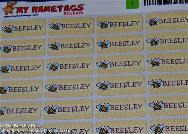 Rebecca from the Beesley Buzz reviews my name tags for a back to school feature! http://bit.ly/1qUbuWa #review #mynametags #backtoschool #school #blog #blogpost