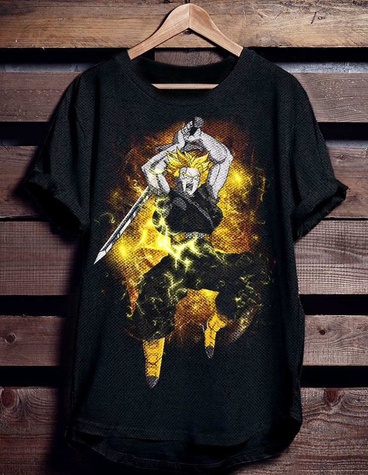 Dragon Ball Z future Trunks Tshirt | Displate thumbnail