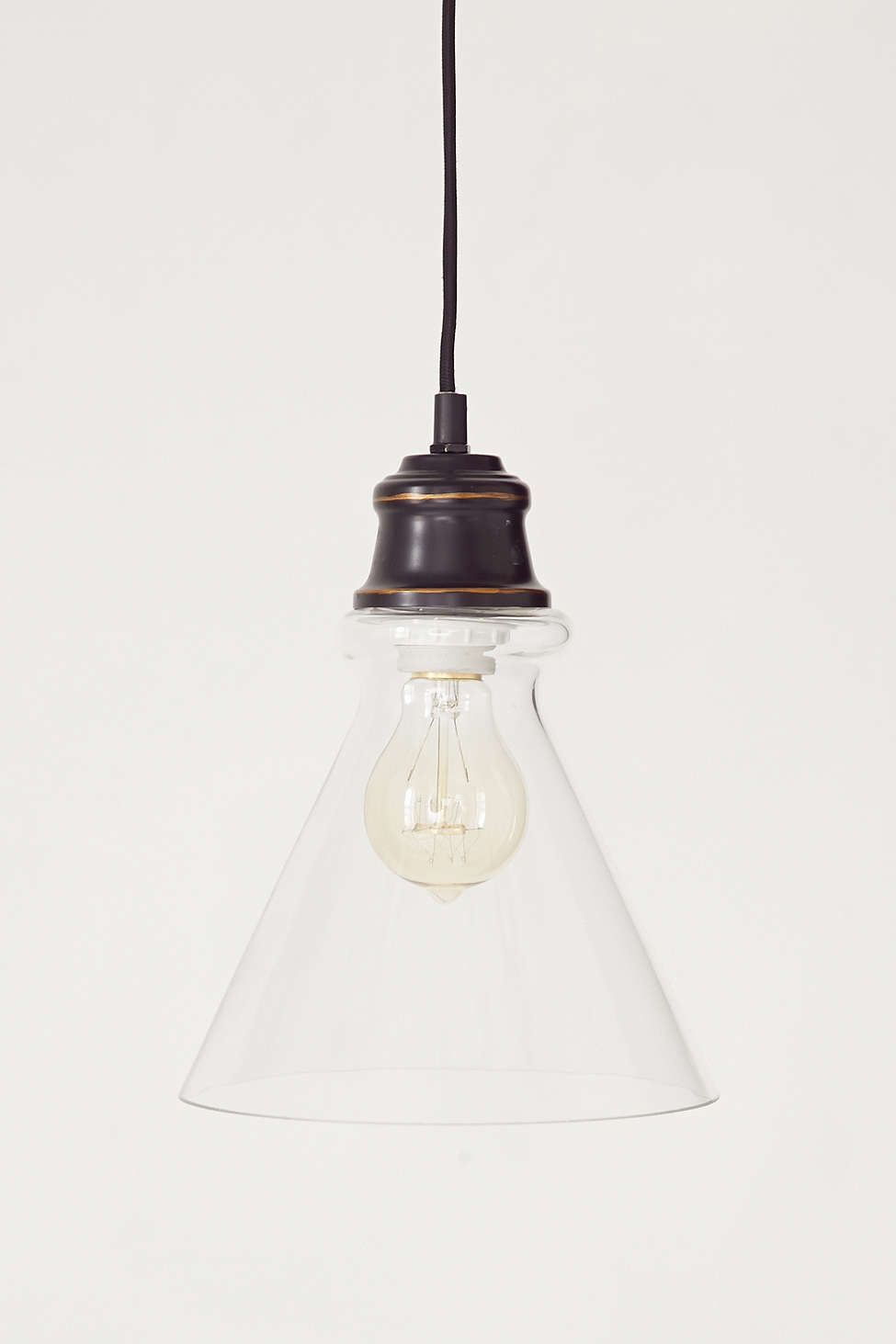 Simple cone pendant light home pinterest pendant lighting