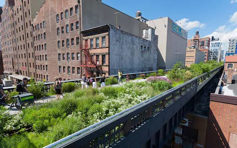 the high line Google Search Esterno, Giardino
