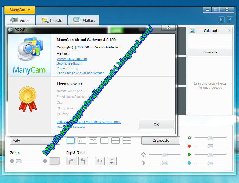 hackinggprsforallnetwork: ManyCam 4 0 109 PRO incl crack