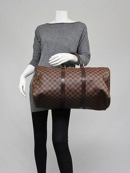 e02fee115 Louis Vuitton Damier Keepall 50 Damier Travel Bag | Louis Vuitton ...
