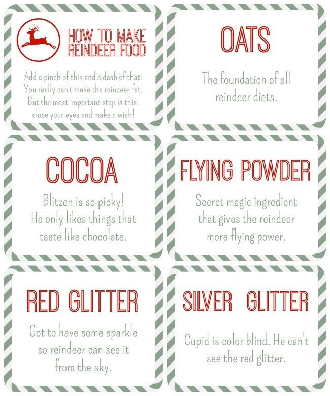 photo relating to Reindeer Food Labels Printable referred to as Reindeer Foodstuff Free of charge Printables trip // xmas crafts