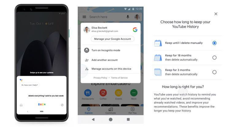 Google Brings Incognito Mode To Maps Auto Delete To Youtube And Password Check Into Chrome Incognito Youtube Saved Passwords