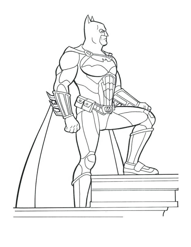 Cool Batman Coloring Pages Ideas For Boys   Superhero ...