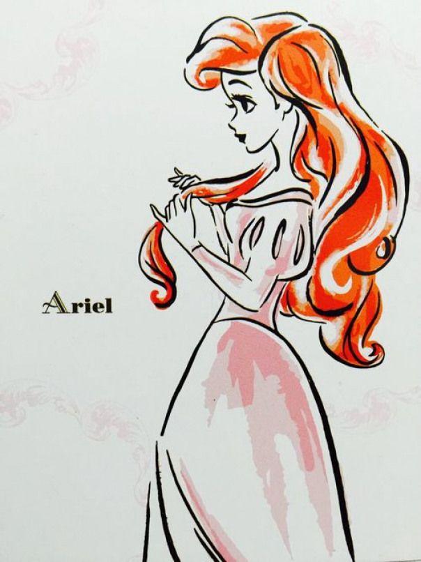 animedrawing anime drawing princesses  disney ariel