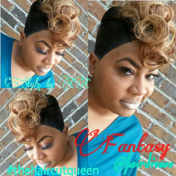 Blonde Hair For Black Women Black Women Short Cuts Pinterest
