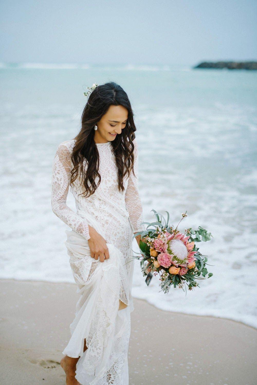Best dresses to wear to a beach wedding  Mi Wedding Diario Vestidos de Novia Bohemios Donde Encontrarlos