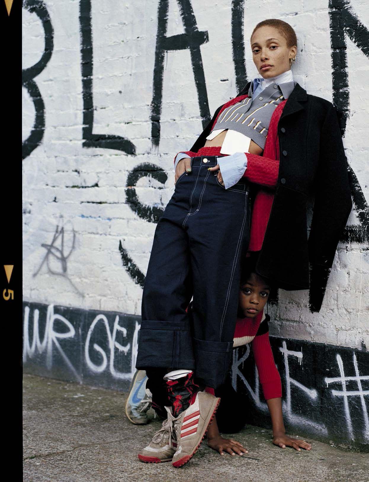 Adwoa Aboah by Tim Walker for Vogue Italia December 2015 1