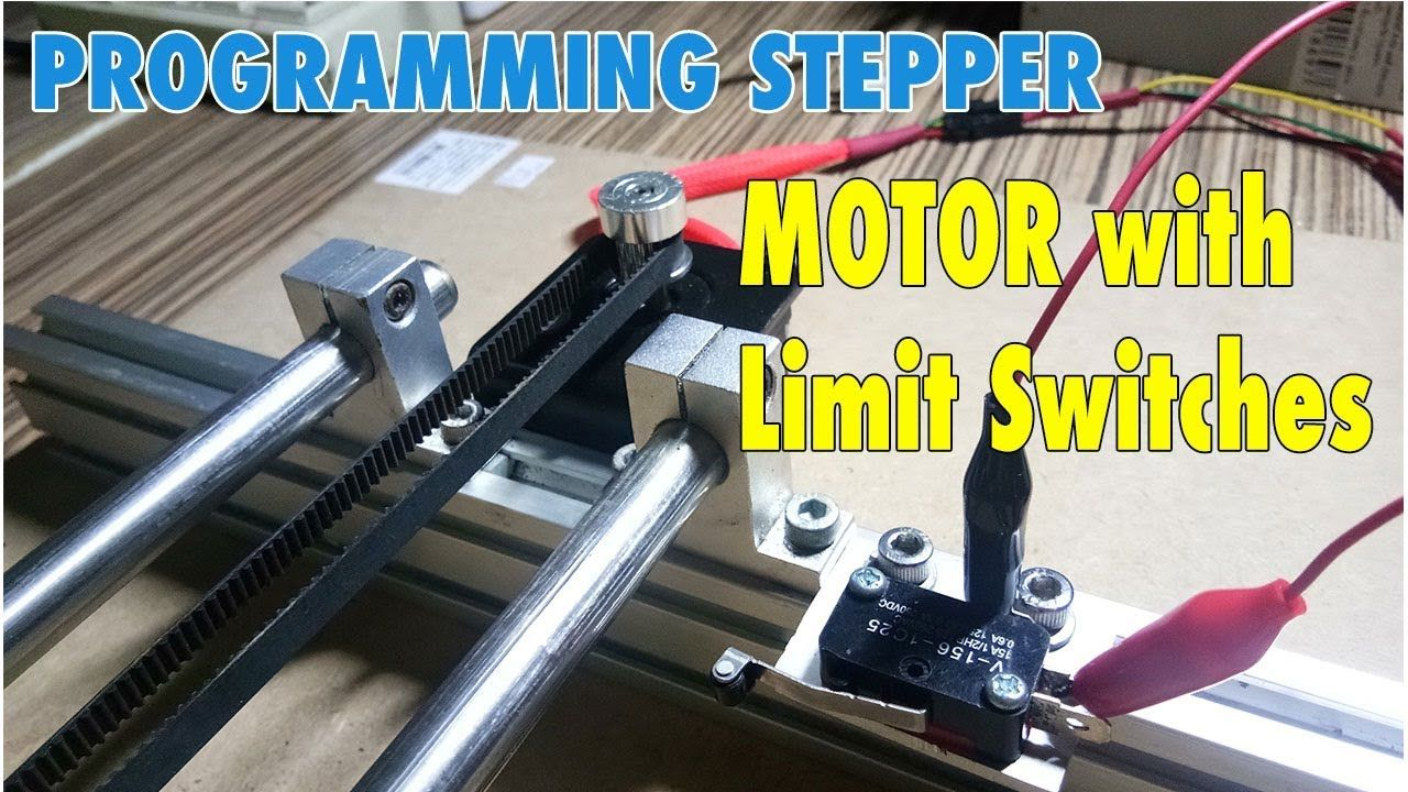 Control Stepper Motor With Limit Switches Arduino Programming