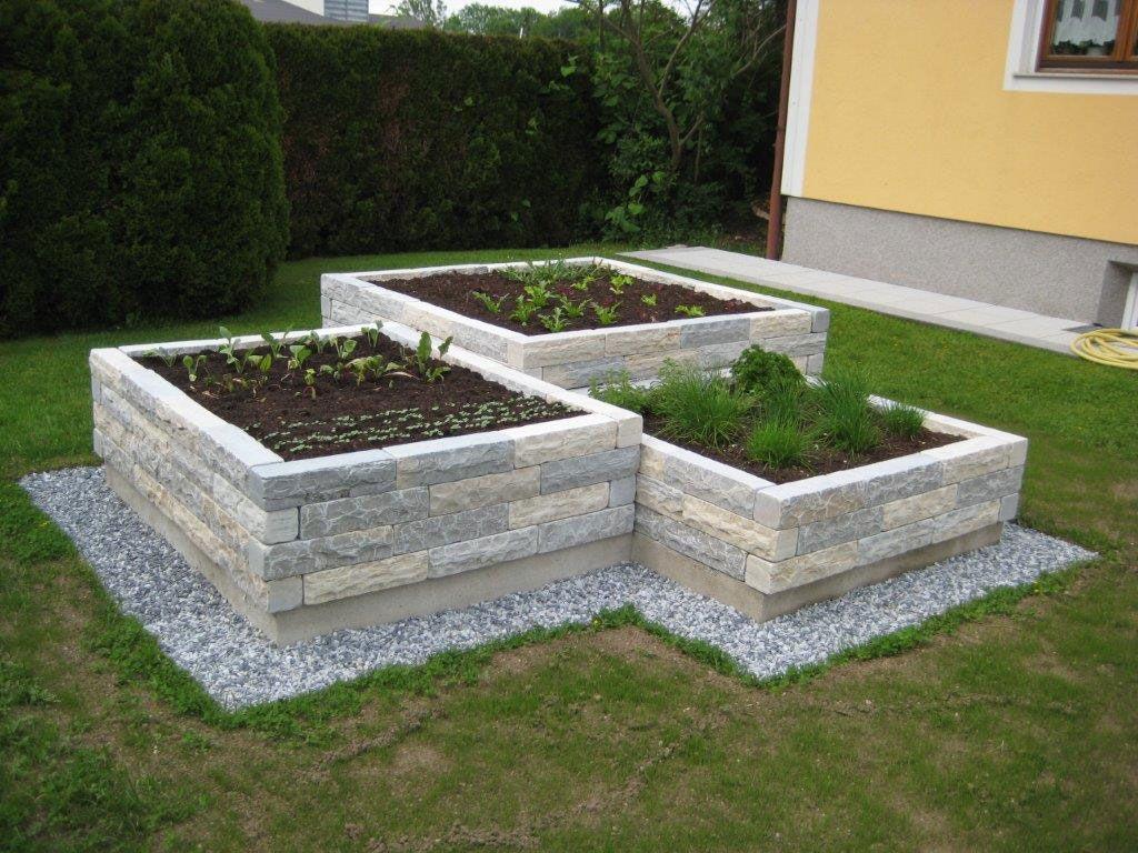 Romerkalkstein Natursteine Garten Garten Hochbeet Und Vorgarten Ideen