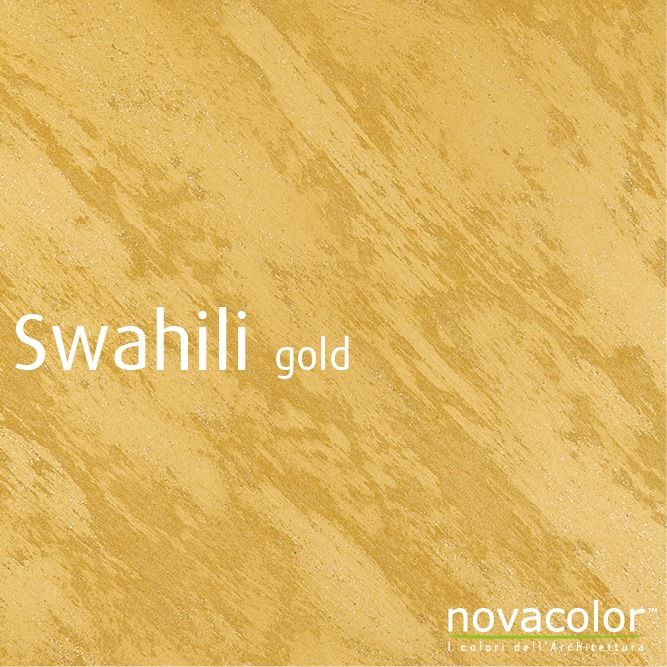 The warmth of the gold… Swahili by #Novacolor, high end # ...