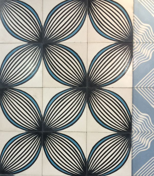 modern tile options: our favorites from coverings | concrete tiles