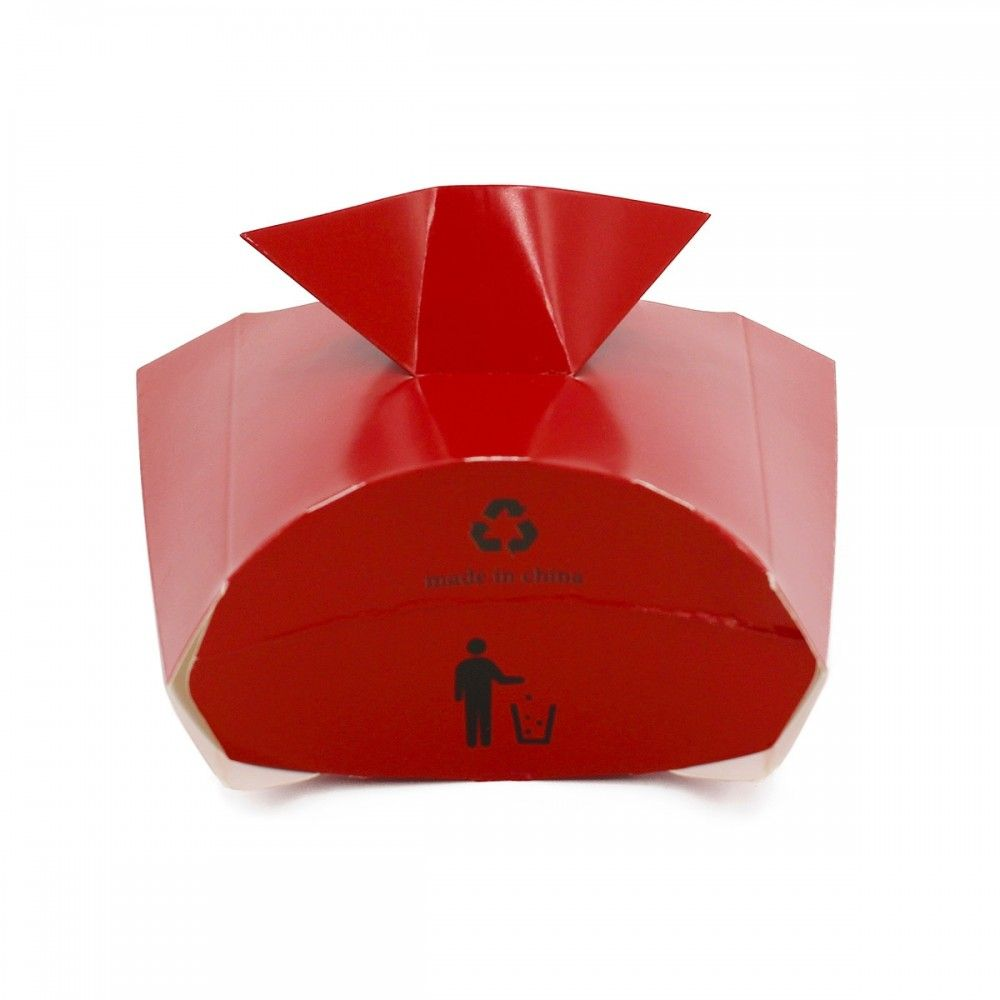 علب للبطاطس والحلويات مزودة بحامل للصوص سهلة الحمل العدد 100 علبه الطول 13 5 سم العرض 13 سم متوفرة لدى موقع صفقات موقع م Container Takeout Container