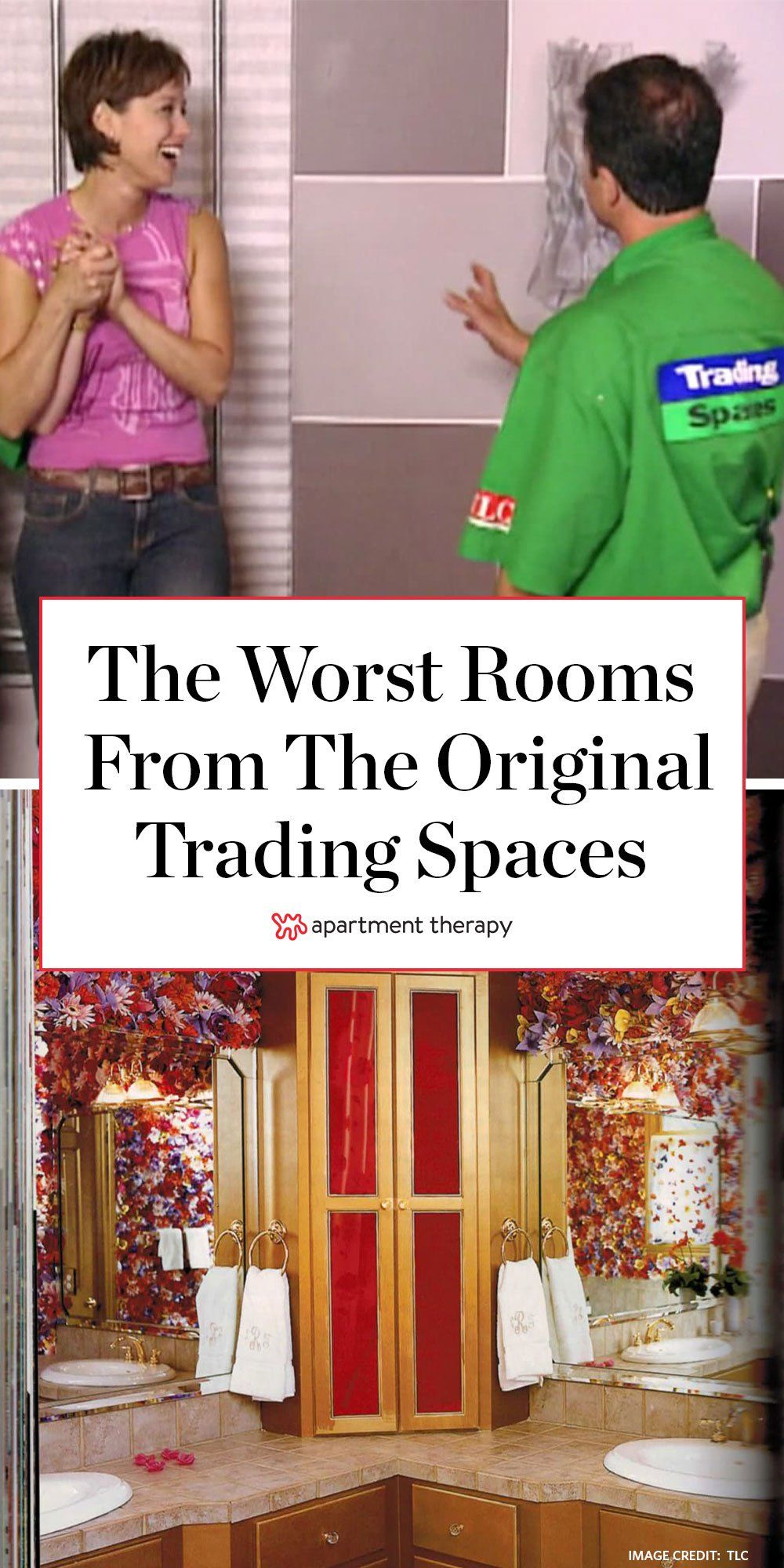 The Best Worst Rooms From The Original Trading Spaces In 2020 Bad Room Design Room Design Room