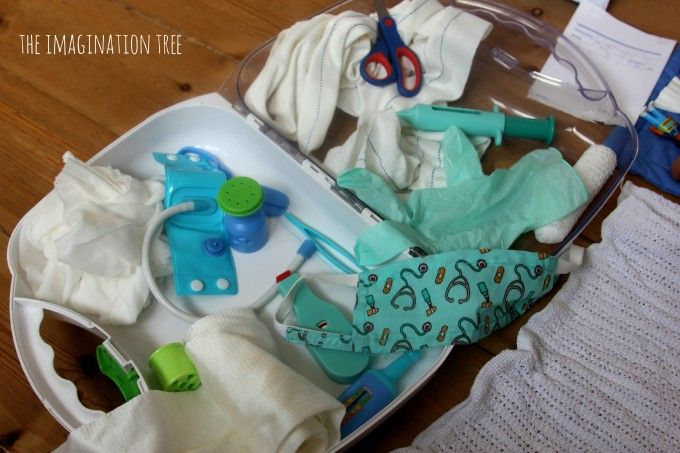 doctor's kit for pretend play