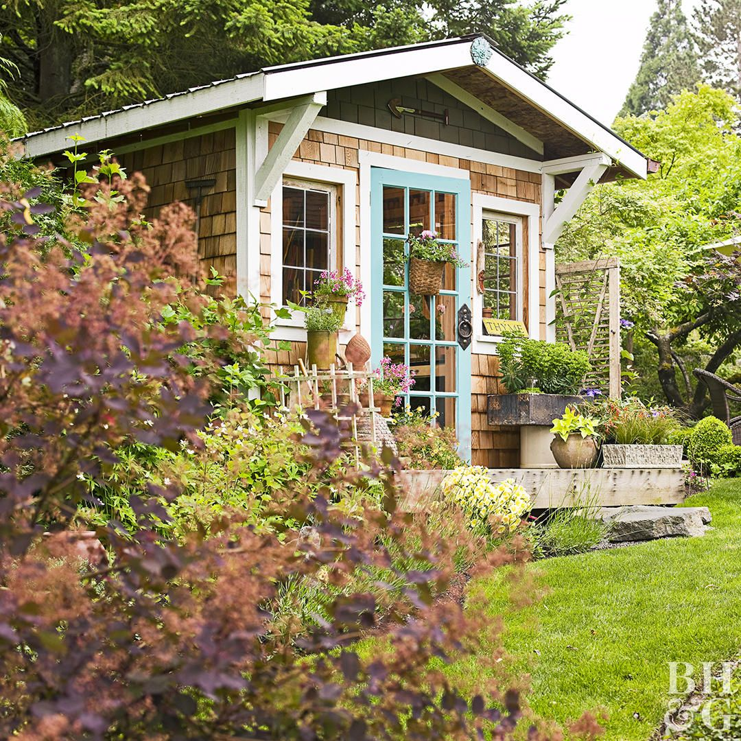 30 Garden Shed Ideas For The Ultimate Outdoor Oasis Backyard Sheds Backyard Garden Shed Backyard oasis ideas this old house