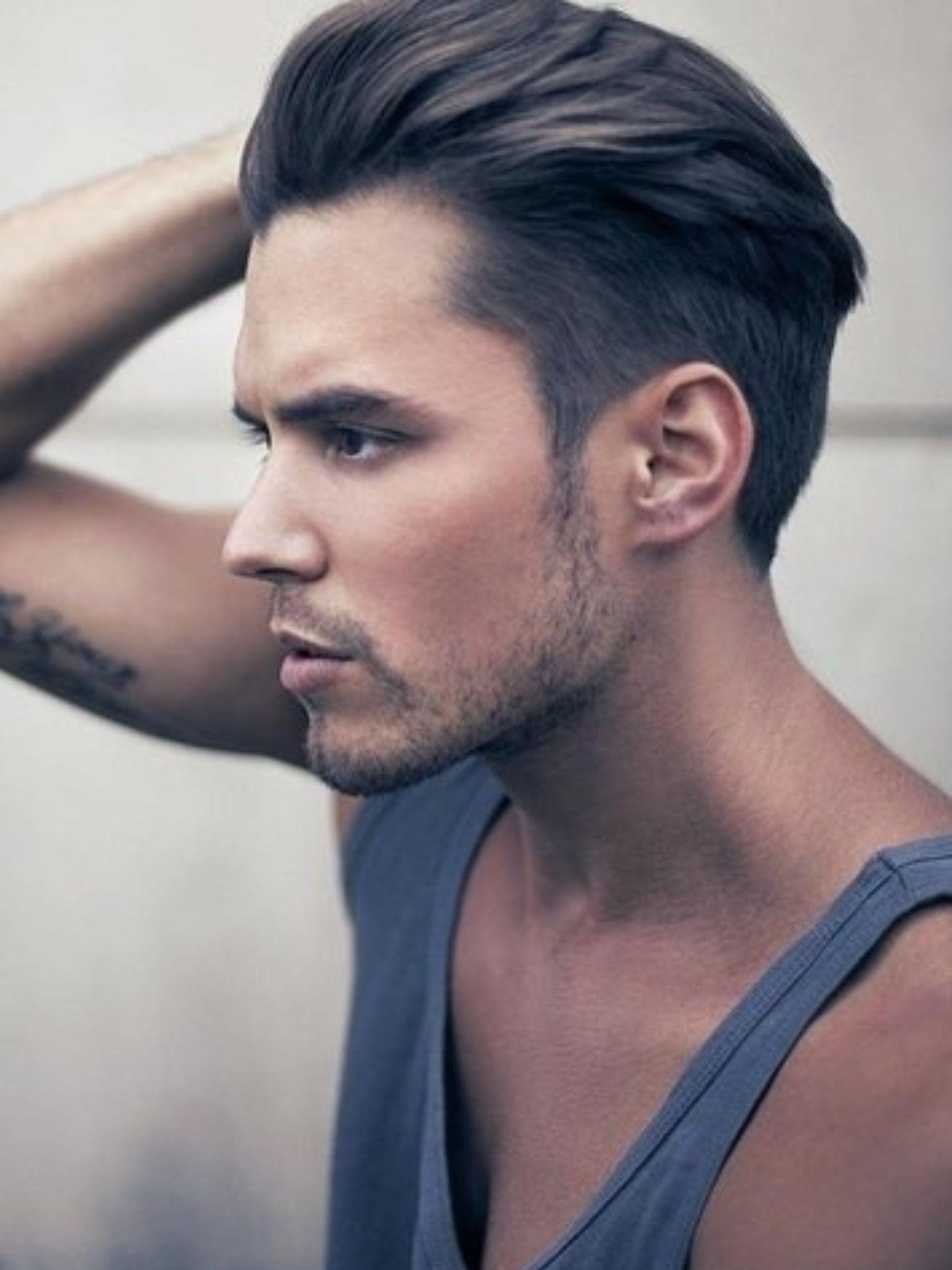Medium short haircut men menus wear  fashion for men  mode homme  haïr  hair goals