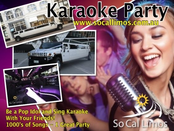 Everyone loves karaoke. Young and Old! Hop aboard our stretched Hummer for a fantastic karaoke party. Enjoy a real pop star experience where you and your friends can be the stars of the show. Our hummer is fitted with a state of the art karaoke machine packed with over 2000 awesome tunes and 2 x microphones.  http://goo.gl/9gMa1P #KaraokeHummerTours #SchoolBalls #HensParties #BirthdayGifts #Perth #Limo #HummerLimo