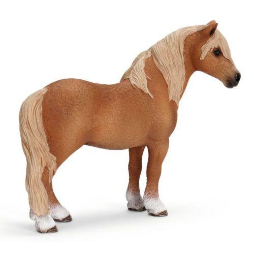 NEW-Schleich-Horse-Dartmoor-Pony-Stallion-Model-Toy-13692
