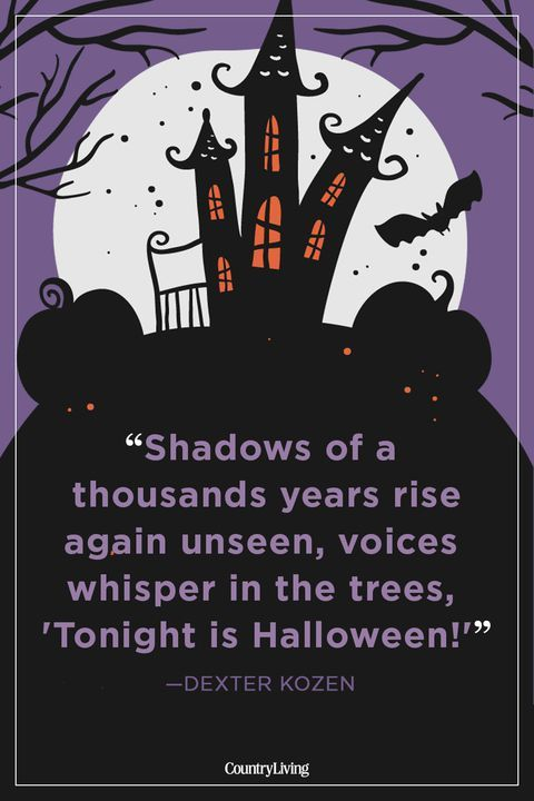 If These Spooky Quotes Don\u0027t Put You in the Halloween Spirit