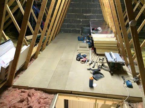 Laying Loft Flooring Loft Boards Attic Flooring For Storage Diy Doctor Attic Flooring Attic Rooms Attic Flooring Diy